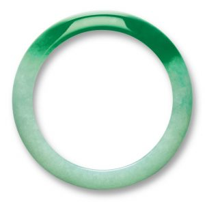 Lot 1478 - An Impressive Jadeite Bangle