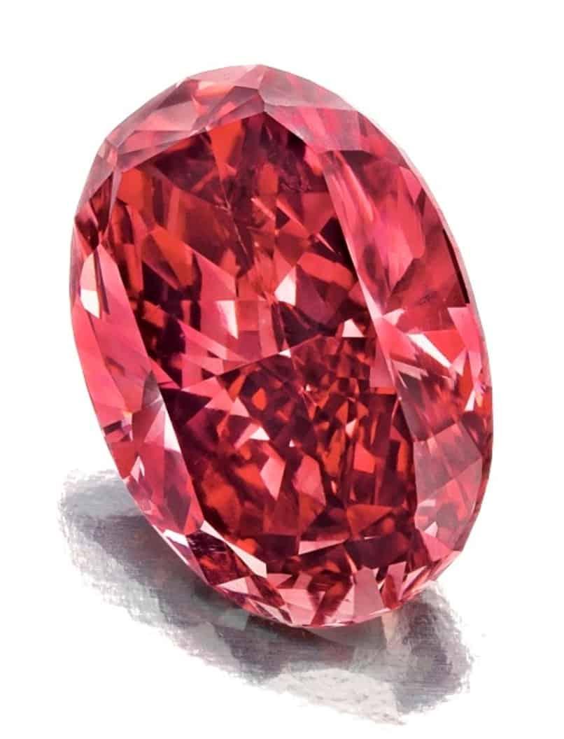Lot 197 - A Rare Unmounted Colored Diamond