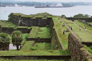 17th-Century Dutch Ramparts and the Galle Natural Harbor