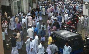 Busy  Beruwela Street Gem Market