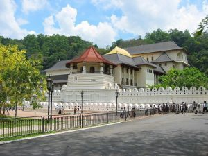 Temple of the Sacred Tooth Relic at Kandy sacred City