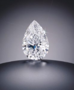 100.10-carat, pear-shaped, D-color, internally flawless Star of the Season Diamond