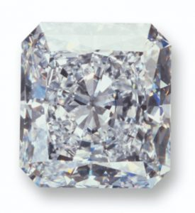 100.36-carat, rectangular    modified brilliant-cut , D-color, internally flawless Star of Happiness Diamond