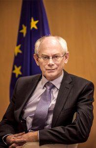 Herman Van Rompuy, former EU President and Prime Minister of Belgium