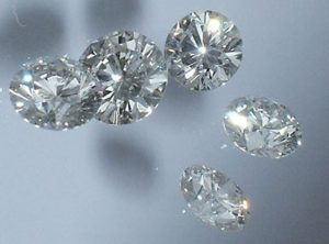 Some synthetic diamonds produced by the HPHT or CVD methods