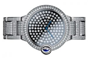 Cartier Ballon Bleu Vibrating Diamonds Setting Watch