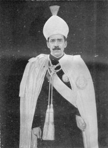 His Exalted Highness Sir Mir Usman Ali khan, VIIth and the last Nizam of Hyderabad -  the original owner of the Princie Diamond