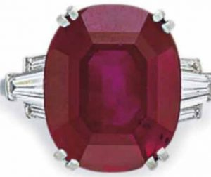 Lot 152 - An Important Ruby and Diamond Ring
