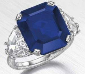 Lot 269 - An Important Sapphire and Diamond Ring