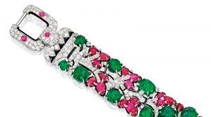 Lot 356 - Section of the Tutti-Frutti  Bracelet Enlarged