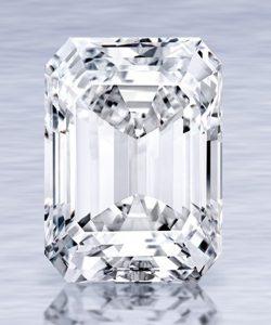 Lot 357 - The Ultimate Emerald-Cut Diamond