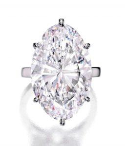Lot 363 - Magnificent Platinum and Diamond Ring