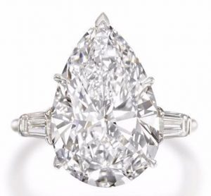 Lot 169 - A Diamond Single Stone Ring by Harry Winston
