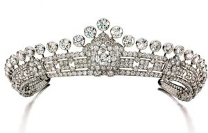 Lot 497 - Diamond Tiara, Cartier, 1930s
