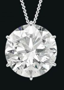 Lot 315 - A Spectacular Diamond Pendant