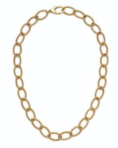 Lot 668 - Tiffany & Co. Gold Chain Necklace