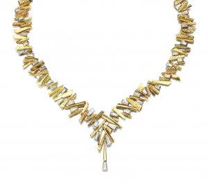 Lot 132 - Diamond Necklace by David Morris, Circa 1966