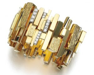 Lot 137 - Diamond Bangle, David Morris, Circa 1965