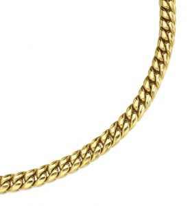 Lot 251 - 18k Yellow Gold Italian Necklace