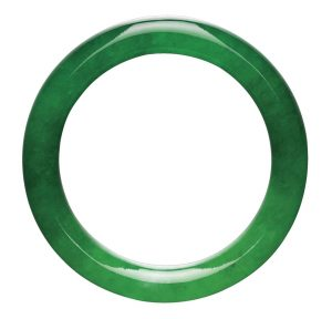 Lot 1790 - Highly Important Jadeite Bangle