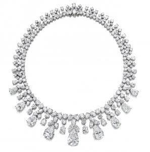 Lot 1798 - Magnificent Diamond Necklace by Harry Winston