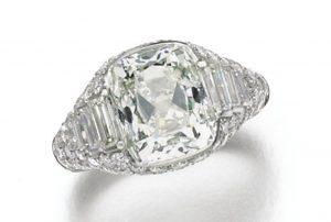 Lot 154 - Diamond Ring by Bulgari
