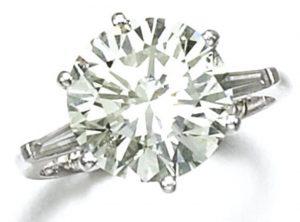 Lot 59 - Diamond Ring by Kutchinsky