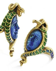 Lot 151 - Other Views of Rene Lalique Medusa and Snake Ring