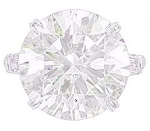 Lot 123 - A Diamond Ring