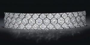 Lot 255 - An Art Deco Diamond Bracelet by Cartier