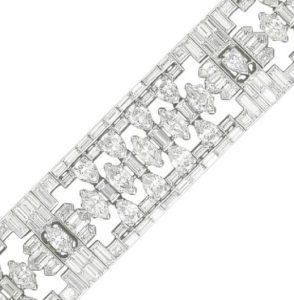 Lot 116 - A Segment of Caldwell's Art Deco Bracelet enlarged