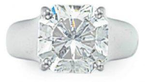 Lot 119 - A Diamond Lucida Ring by Tiffany & Co.