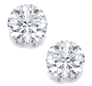 Lot 1705 - Fine Pair of Unmounted Diamonds
