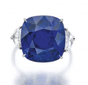 Lot 1661 - Sapphire and Diamond Ring