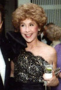 BETSY BLOOMINGDALE, AMERICAN SOCIALITE AND FASHION ICON