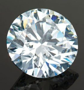 LOT 2075 - AN UNMOUNTED DIAMOND