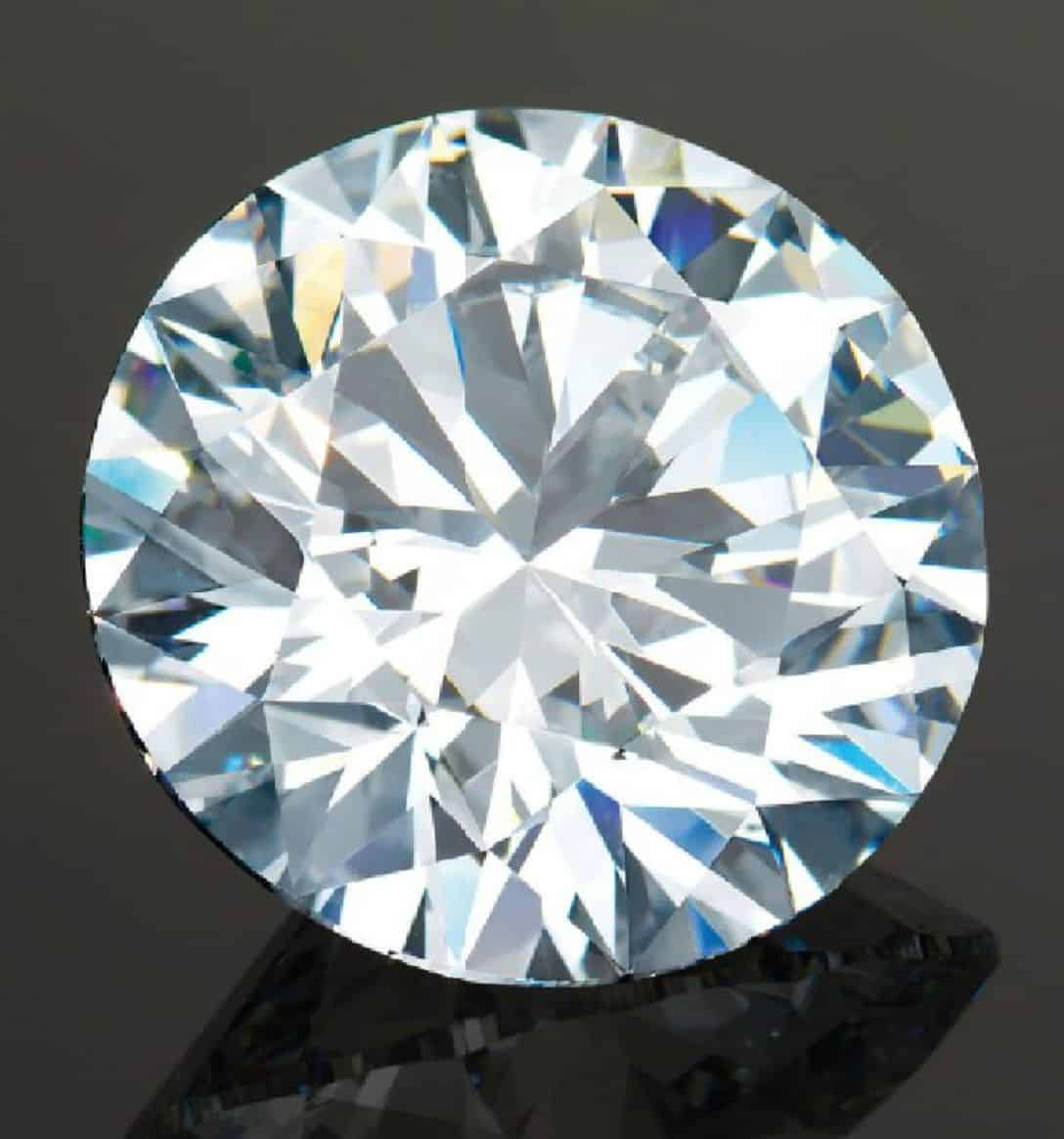 LOT 2075 - AN UNMOUNTED DIAMOND