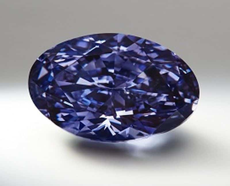 2.83-CARAT, OVAL BRILLIANT-CUT, FANCY DEEP GRAYISH BLUISH VIOLET ARGYLE DIAMOND