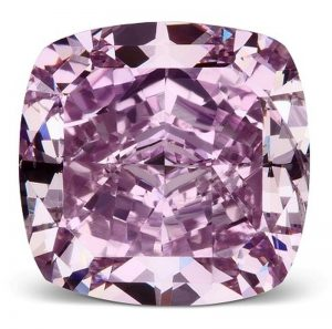 1.64-CARAT,CUSHION BRILLIANT-CUT, FANCY VIVID PURPLE, SI2-CLARITY, VICTORIAN ORCHID DIAMOND