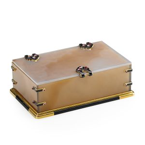 Lot 2030 Cartier, Paris, Enameled Gold & Agate Table Box Sold for: $75,000