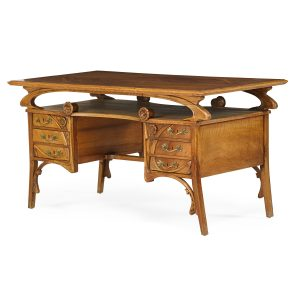 Lot 579 Art Nouveau Desk Sold for: $5,625
