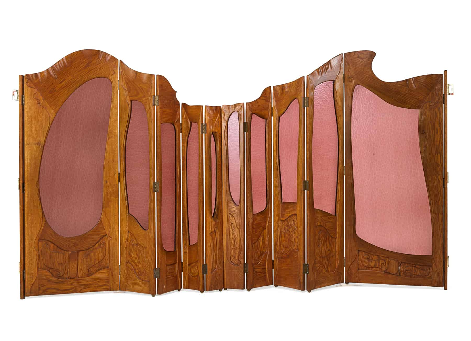 Lot 580 After Antoni Gaudi Two-Part Folding Screen Sold for: $25,000