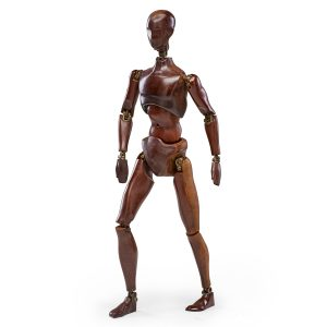 "Lot 623 Atsco ""Oscar"" Artist Mannequin Sold for: $2,500"