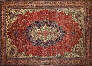 Lot 650 Sarouk Fereghan Carpet Sold for: $7,500
