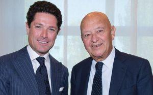 Matteo Marzotto (Vice-President Italian Exhibition Group) and Lorenzo Cagnoni (President Italian Exibition Group)