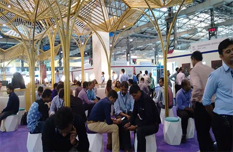 Section of visitors/exhibitors at the 10th Signature IIJS and 4th IGJME