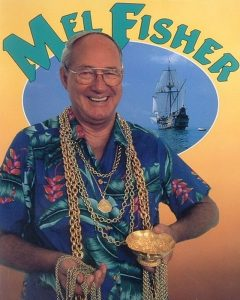 Mel Fisher, renowned treasure hunter and founder of Mel Fisher Maritime Heritage Society and Museum