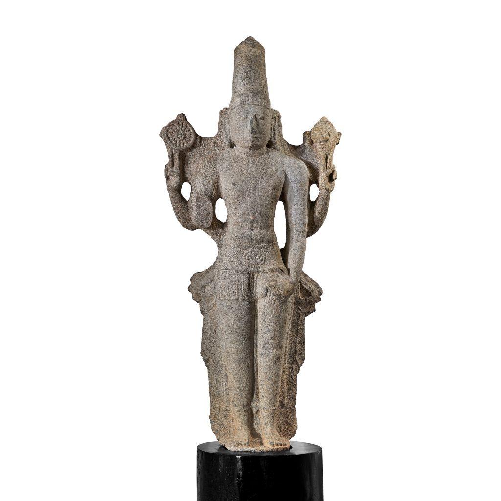 Lot 69 - MAJESTIC VISHNU, TAMIL NADU, CIRCA 12TH CENTURY, Rs 2,00,00,000 - 3,00,00,000 ($298,510 - 447,765)
