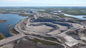 One of three open pit mines at Gahcho Kué Mine
