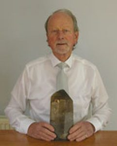Alan Hodkinson of Scotland, a dealer, gemmologist and instructor in gemmology